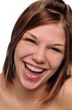γελώντας νεολαίες κορ&io Στοκ Φωτογραφίες