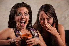 Γελώντας φίλοι Στοκ Φωτογραφία