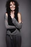 γελώντας όμορφες γυναίκ&ep Στοκ εικόνα με δικαίωμα ελεύθερης χρήσης