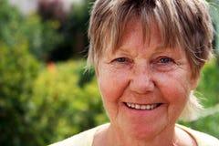 γελώντας retiree Στοκ εικόνα με δικαίωμα ελεύθερης χρήσης