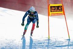 Γεμίστε το Peter στο αλπικό Παγκόσμιο Κύπελλο σκι Audi FIS - RA των ατόμων προς τα κάτω Στοκ Εικόνες