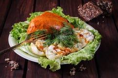 Γεμισμένα κολοκύθια, κοτόπουλο Στοκ Εικόνες