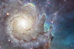 Γεμισμένα κόσμος αστέρια, νεφέλωμα και γαλαξίας Κοσμική τέχνη, ταπετσαρία επιστημονικής φαντασίας στοκ φωτογραφίες