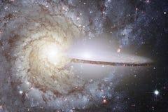 Γεμισμένα κόσμος αστέρια, νεφέλωμα και γαλαξίας Κοσμική τέχνη, ταπετσαρία επιστημονικής φαντασίας στοκ εικόνα με δικαίωμα ελεύθερης χρήσης