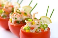 γεμισμένες ντομάτες Στοκ Εικόνες