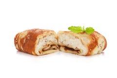 Γεμισμένες τηγανίτες στοκ φωτογραφίες με δικαίωμα ελεύθερης χρήσης