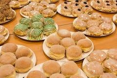 γεμισμένες τηγανίτες Στοκ φωτογραφία με δικαίωμα ελεύθερης χρήσης