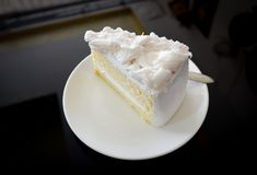 γεμισμένη εικόνα καρύδων κέικ ανασκόπησης εντελώς Στοκ Εικόνες