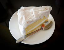 γεμισμένη εικόνα καρύδων κέικ ανασκόπησης εντελώς Στοκ Φωτογραφία