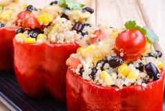 Γεμισμένη μεξικάνικη Quinoa σαλάτα Στοκ εικόνες με δικαίωμα ελεύθερης χρήσης