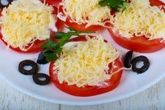 γεμισμένη ντομάτα Στοκ Εικόνες