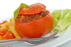 γεμισμένη ντομάτα Στοκ Φωτογραφίες