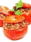 γεμισμένη ντομάτα Στοκ εικόνες με δικαίωμα ελεύθερης χρήσης
