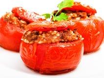 γεμισμένη ντομάτα Στοκ φωτογραφίες με δικαίωμα ελεύθερης χρήσης