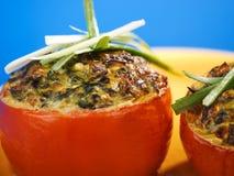 γεμισμένη ντομάτα Στοκ εικόνα με δικαίωμα ελεύθερης χρήσης