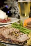 Γεμισμένη οσφυϊκή χώρα χοιρινού κρέατος Στοκ εικόνα με δικαίωμα ελεύθερης χρήσης