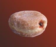 γεμισμένη doughnut ζελατίνα Στοκ Εικόνα
