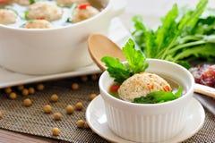 Γεμισμένη Tofu σφαίρα στοκ εικόνες με δικαίωμα ελεύθερης χρήσης