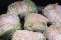 Γεμισμένο λάχανο - ένα παραδοσιακό ρωσικό πιάτο στοκ φωτογραφία με δικαίωμα ελεύθερης χρήσης