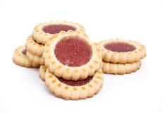γεμισμένο μπισκότα γλυκό &si Στοκ εικόνα με δικαίωμα ελεύθερης χρήσης