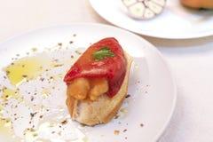 Γεμισμένο πιπέρι Piquillo Στοκ φωτογραφία με δικαίωμα ελεύθερης χρήσης