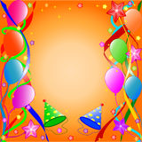 γενέθλια ανασκόπησης ε&upsilon απεικόνιση αποθεμάτων