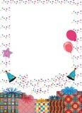 γενέθλια ευτυχή απεικόνιση αποθεμάτων
