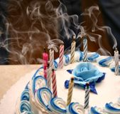 γενέθλια ευτυχή Στοκ Φωτογραφία