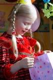γενέθλια ευτυχή Στοκ φωτογραφίες με δικαίωμα ελεύθερης χρήσης