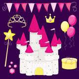 γενέθλια λίγη πριγκήπισσ&alp Στοκ εικόνα με δικαίωμα ελεύθερης χρήσης