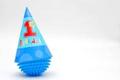γενέθλια πρώτα ευτυχή Στοκ εικόνες με δικαίωμα ελεύθερης χρήσης