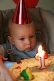 γενέθλια πρώτα Στοκ εικόνα με δικαίωμα ελεύθερης χρήσης
