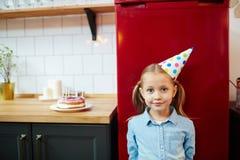 Γενέθλια του κοριτσιού Στοκ Εικόνες