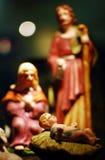 γενέθλια Χριστός Ιησούς Στοκ Φωτογραφίες