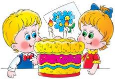 γενέθλια ελεύθερη απεικόνιση δικαιώματος