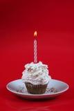 γενέθλια cupcake Στοκ Φωτογραφία