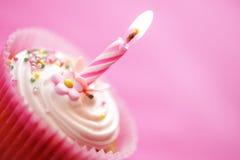 Γενέθλια cupcake Στοκ Φωτογραφίες