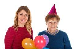 Γενέθλια εορτασμού από κοινού Στοκ Εικόνα