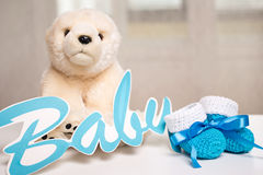 Γενέθλια μωρού Στοκ Εικόνες