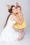 γενέθλια μωρών ευτυχή Στοκ Εικόνα
