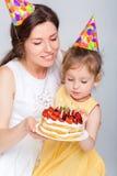 γενέθλια μωρών ευτυχή Στοκ Φωτογραφία