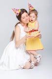 γενέθλια μωρών ευτυχή Στοκ Εικόνες