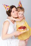 γενέθλια μωρών ευτυχή Στοκ εικόνα με δικαίωμα ελεύθερης χρήσης