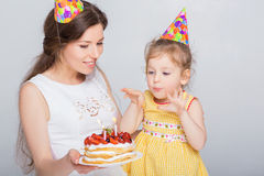γενέθλια μωρών ευτυχή Στοκ Φωτογραφίες