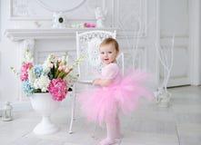Γενέθλια του μικρού κοριτσιού Στοκ Φωτογραφία