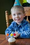 Γενέθλια τριάχρονων παιδιών Στοκ εικόνα με δικαίωμα ελεύθερης χρήσης