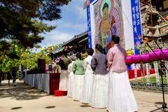 Γενέθλια Buddhas Στοκ Φωτογραφίες