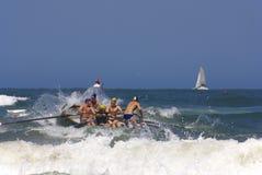 Γενέθλιο γεγονός πρόκλησης lifeguard KwaZulu Στοκ εικόνα με δικαίωμα ελεύθερης χρήσης