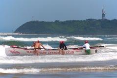 Γενέθλιο γεγονός πρόκλησης lifeguard KwaZulu Στοκ φωτογραφία με δικαίωμα ελεύθερης χρήσης
