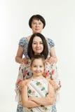 γενεές τρεις γυναίκες Στοκ εικόνα με δικαίωμα ελεύθερης χρήσης